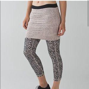 LULULEMON- Wunder Under PantSE Dance Skirt Legging